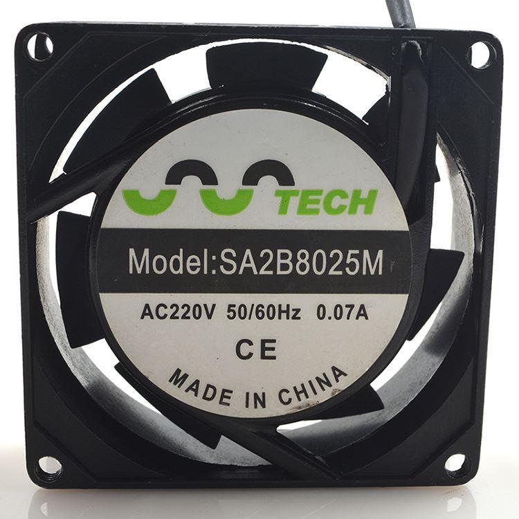 TECH 50/60Hz 220V 0.07A 8025 copper axial fan fan with 8CM