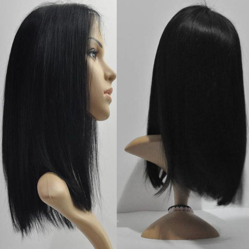 Cheap Bob Lace Front Wig Brazilian Virgin Remy Human Hair Glueless Full Lace Wigs Short Bob Lace Front Wig For Black Women