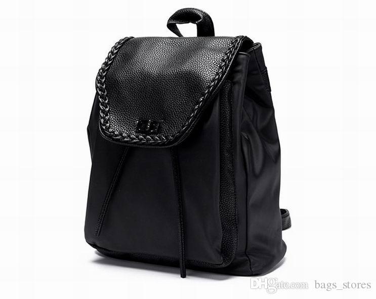 8024bfd71f37 Fashion Waterproof Backpack Oxford Bags Rivet Women Classic Brand Designer  Backpacks Female Bag New Bags Ladies Outdoor Handbags H839 Best Backpacks  Girls ...