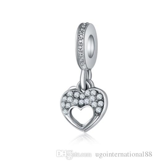 Charm Silver Plated Bead Pram Eyes Handbag Infinity Heart Fit Pandora Charms Beads Bracelet Pendants Diy Original Jewelry Gift Beads Jewelry & Accessories