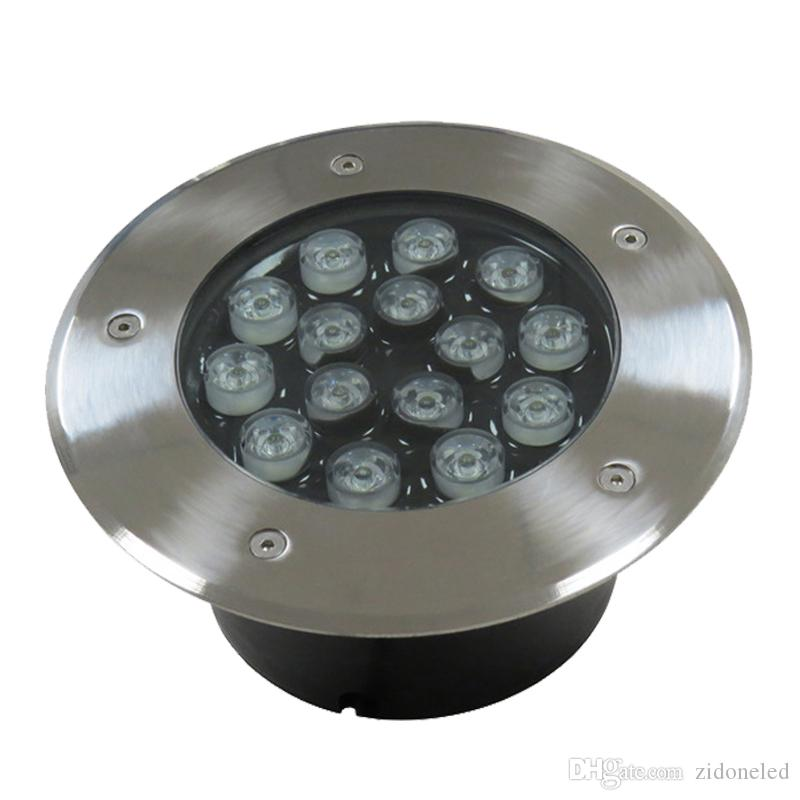 illuminazione sotterranea a led esterni illuminazione esterni da incasso a pavimento percorso interrato cortile luci impermeabili sotterranee 3W / 5W / 7W / 9W / 12W / 15W / 18W / 24W