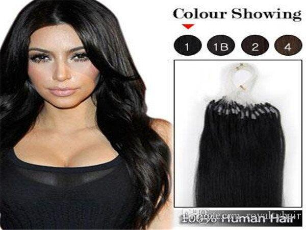 100strands set micro ring loop hair extensions body wave 1g strand 100strands set micro ring loop hair extensions body wave 1g strand 1b black 8 brown 613 blonde red more color human hair glue strip hair extensions hair pmusecretfo Image collections