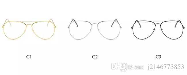 Klasik Şeffaf lens Kadın Erkek Ayna Güneş Gözlüğü Marka Tasarımcı Moda Optik şeffaf Gözlük Güneş Gözlükleri Vintage Ucuz