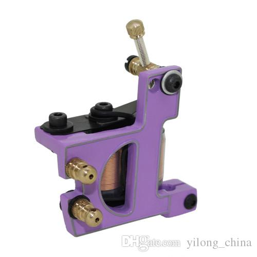 Top Quality Cast Iron Coil Tattoo Machine 10 Warps Coil Handmade Tattoo Machine For Liner And Shader