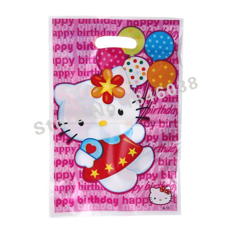Wholesale Loot Bag For Kids Birthday Festival Party Decoration Hello