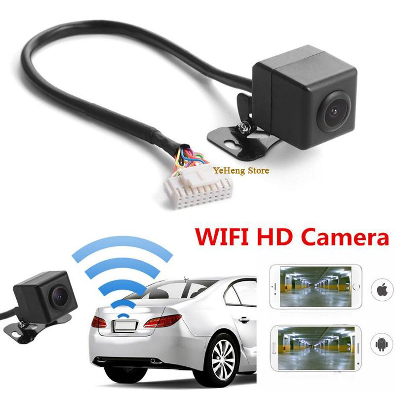 Universal 150 degree Night vision WIFI HD Waterproof Car Rear View Backup  Reverse Parking Camera For Android Iphone Ipad