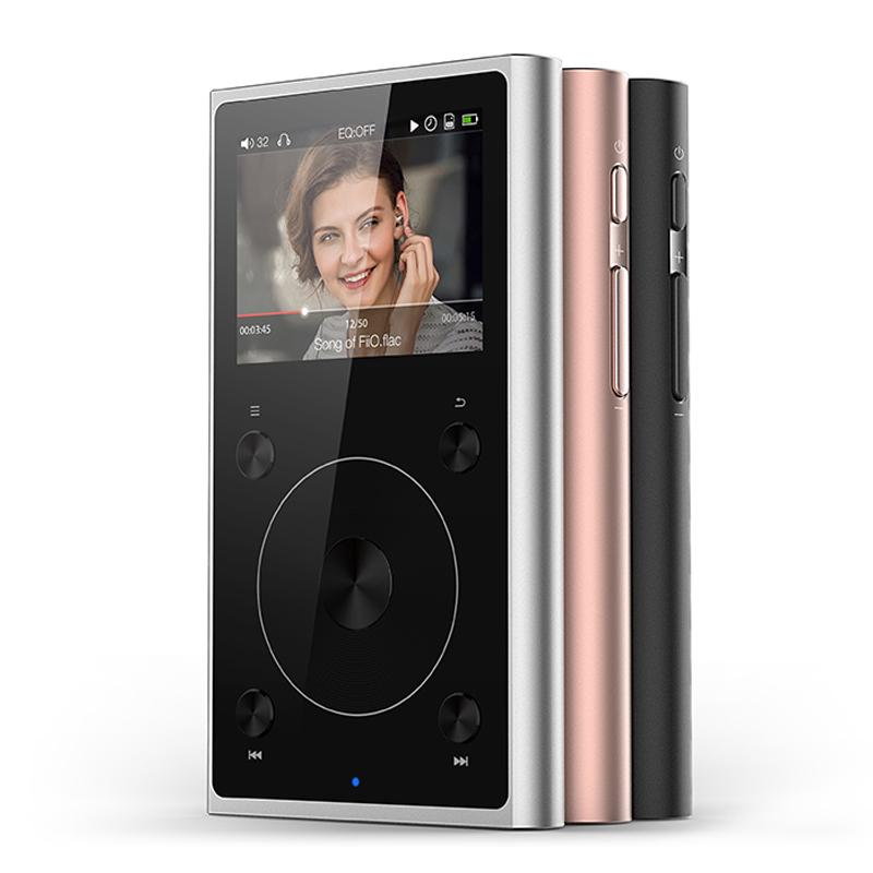 Wholesale- Fiio X1 II X1ii X1 2nd gen 192 kHz/32bit Dual mode Bluetooth 4 0  Portable High Resolution Lossless Music Player PCM5242 D/A