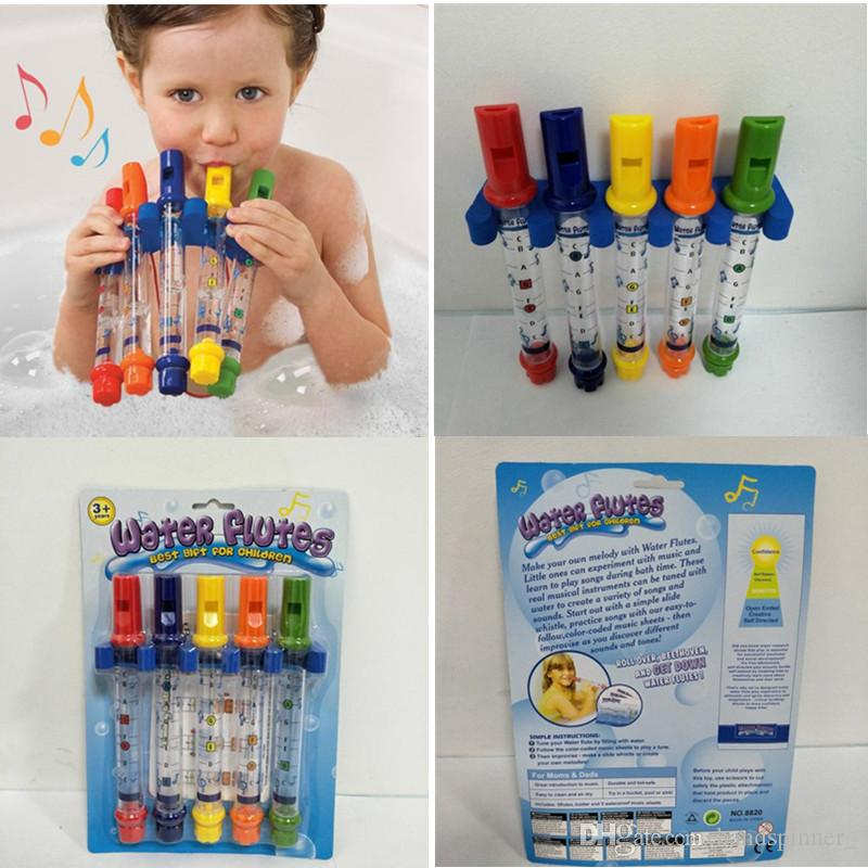 2018 Kids Water Flutes Bathing Tub Tunes Toys Fun Music Sounds ...