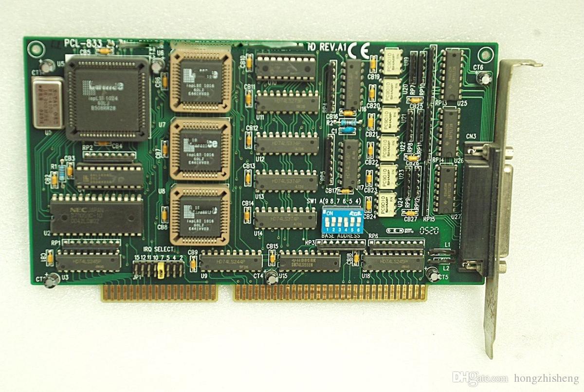 Оригинальный квадратурный энкодер и счетная карта PCL-833 REV.A1 100% проверены, работают, в хорошем состоянии
