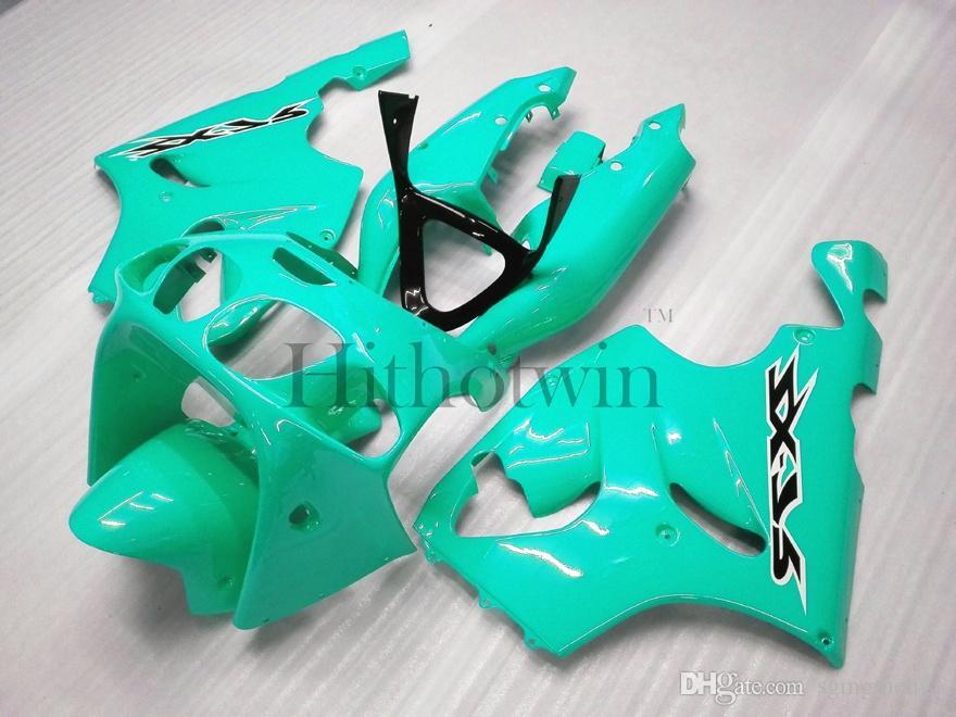 Panneaux de moto en plastique ABS Corps Kit pour Kawasaki ZX-7R 1996-2003 ZX 7R 96 97 98 99 00 01 02 03 orange Carénage de rechange