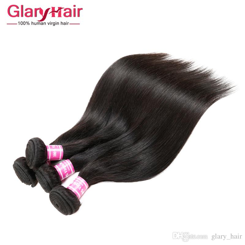 Wholesale Remy Human Hair Weave uk 8a Brazilian Peruvian Malaysian Indian Mongolian Cambodian Raw Virgin Hair Straight Braiding Hair Bunldes