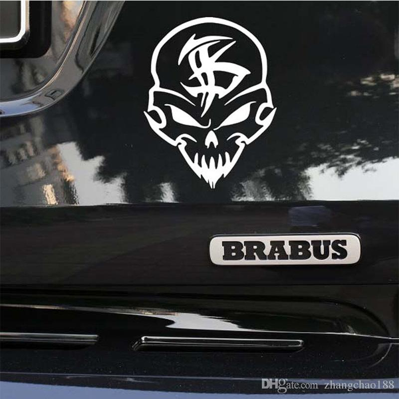 Brand New Personalized Car Modified Stickers Skulls Car - Personalized car decals