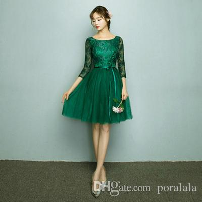 Latest Fashion 2018 New Arrival Ladies Bridal Green Party Women\'S ...