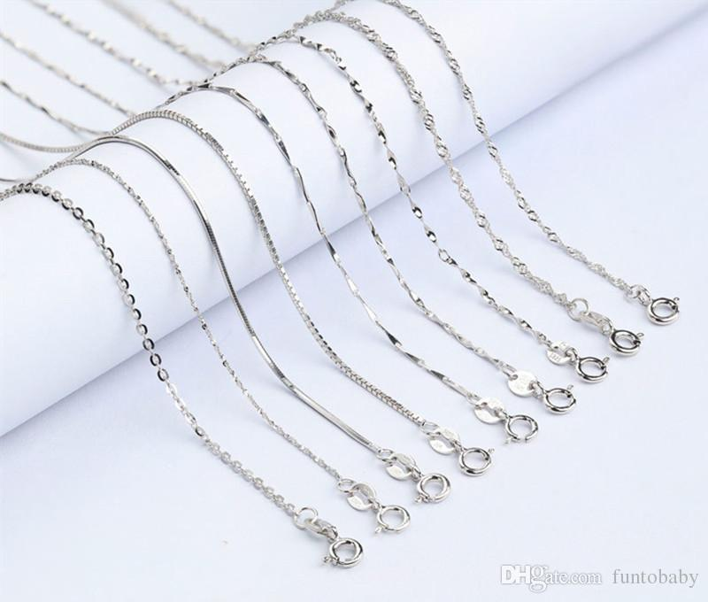 jewelry slide chains sterling star new silver wholesale jewellery