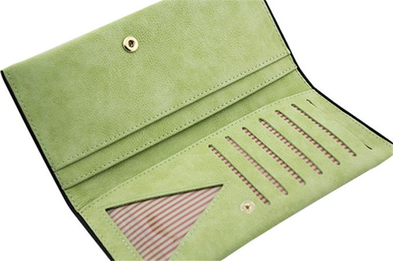 Fashion Clutch Bags Rhinestone Umbrella Wallets & Holders Frosted PU Long Coin Purses Wallets For Girls Gift