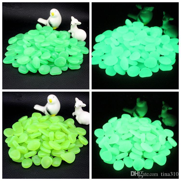 NoctiLucent Coney FishBowl Landscaping NoctiLucent Stones Bonsai Украсить Человек Сделанный NoctiLucent Bobble Multicolor Искусственная Pebble IA555