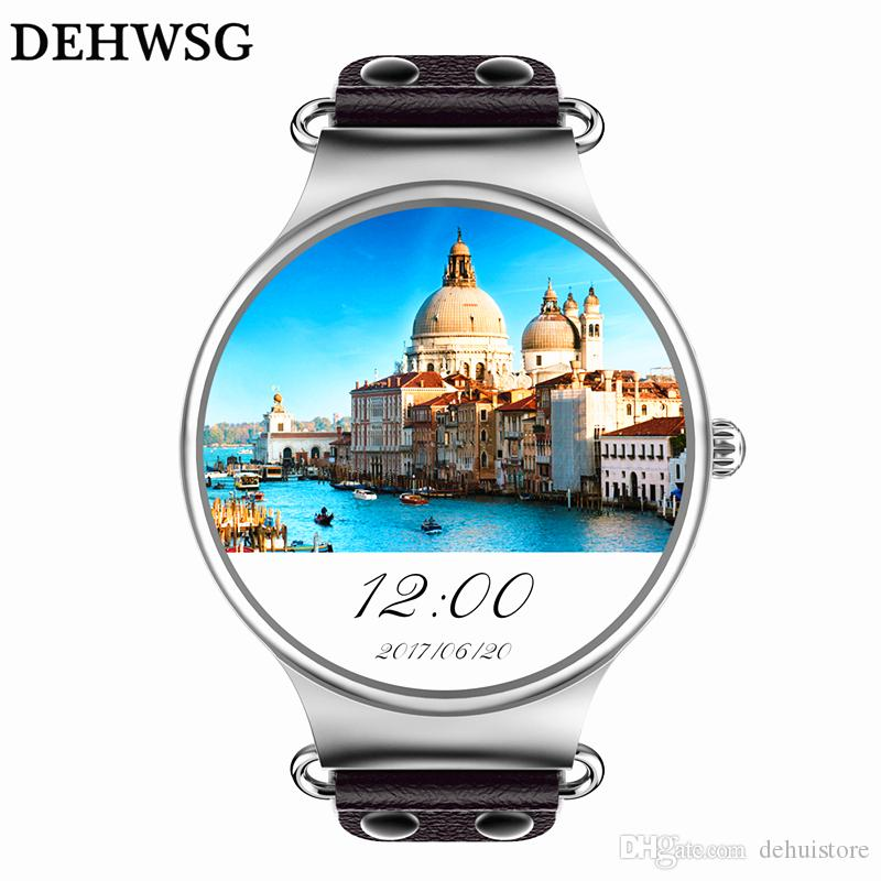 Original KINGWEAR KW98 Smartwatch Android 5 1 OS 512MB + 8GB WIFI 3G GPS  Heart Rate Monitor Bluetooth 4 0 MTK6580 Quad Core Smart Watch
