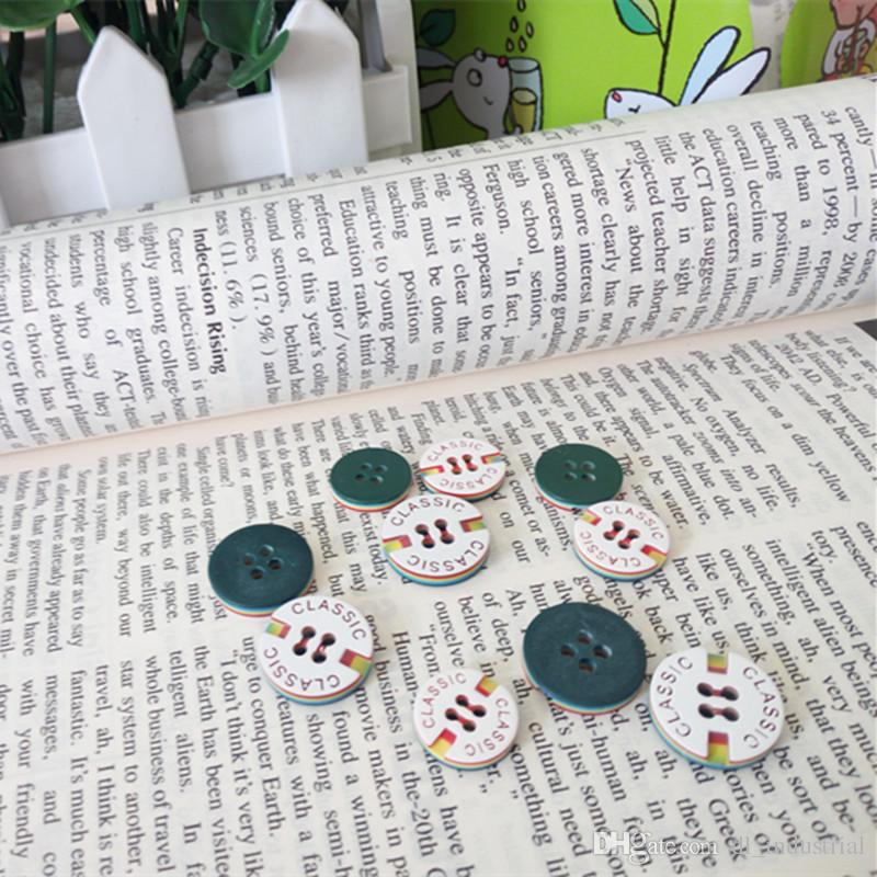 4 Holes Resin sewing buttons Dia.13mm 15mm fastener Shirt T-Shirt Classic decorative buttons clothing sewing accessories DL_BUR010