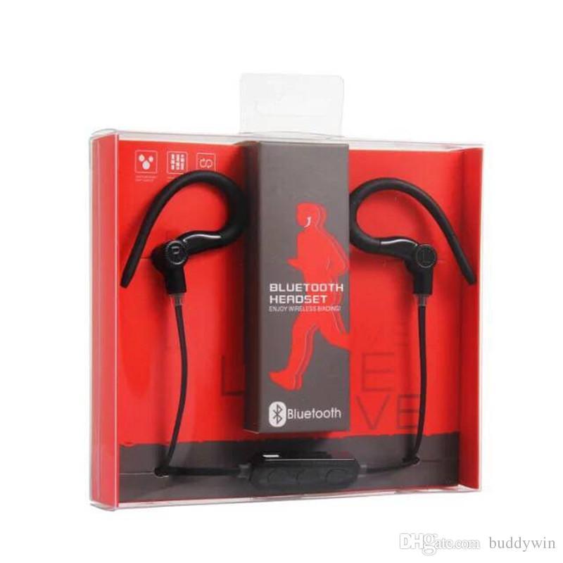 Bluetooth-гарнитура M1 беспроводная связь Bluetooth стерео Спорт наушники Handfree для iphone 7plus Samsung S8 универсальный телефон с розничной коробке