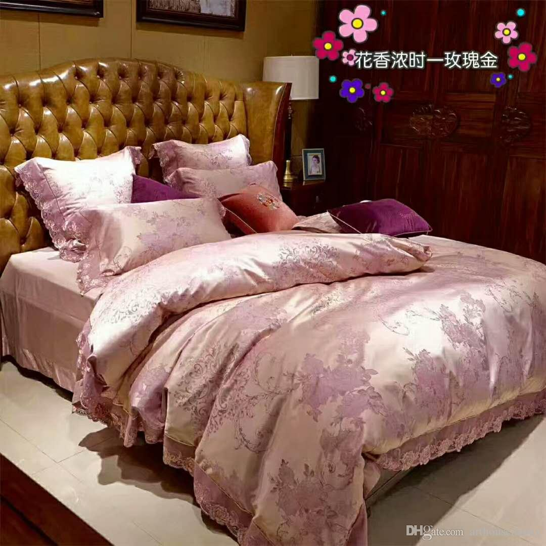 High End Brand New Colorful 100% Cotton Bedding Sets Support Hand Wash Or  Wash Machine Bedding Comforter Grey Twin Comforter From Arthousedanny, ...