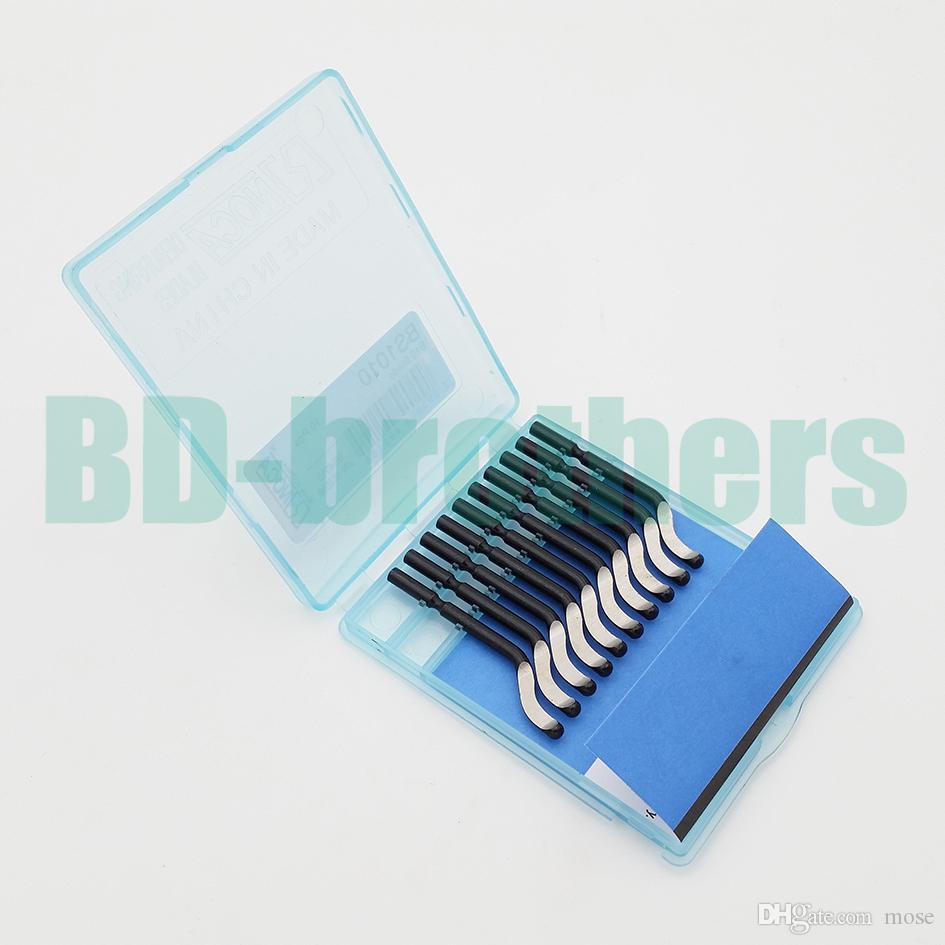 Bs1010 Blade Set Noca Deburring лезвия для пластика / алюминия / меди заусенцев инструменты для обработки ручной заусенцев инструмент 20 компл. / лот