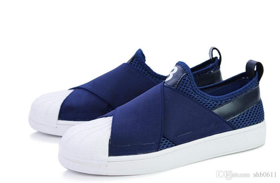 2017 nuove scarpe da ginnastica uomo e donna sandali in pelle coppia cross bind shell testa pigro il tempo libero scarpe taglia 39-44