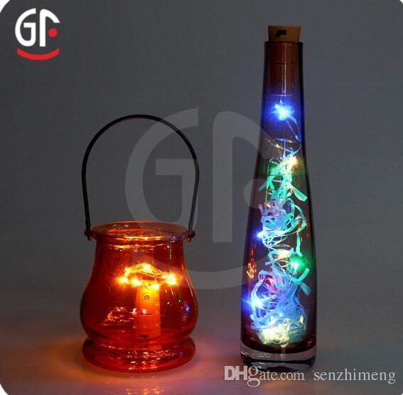 2017 المفاتيح أضواء عيد الميلاد عيد الفصح مطاعم زجاجات الزجاج الثريات الحديثة الإضاءة عطلة أضواء المنزل البستنة الديكور