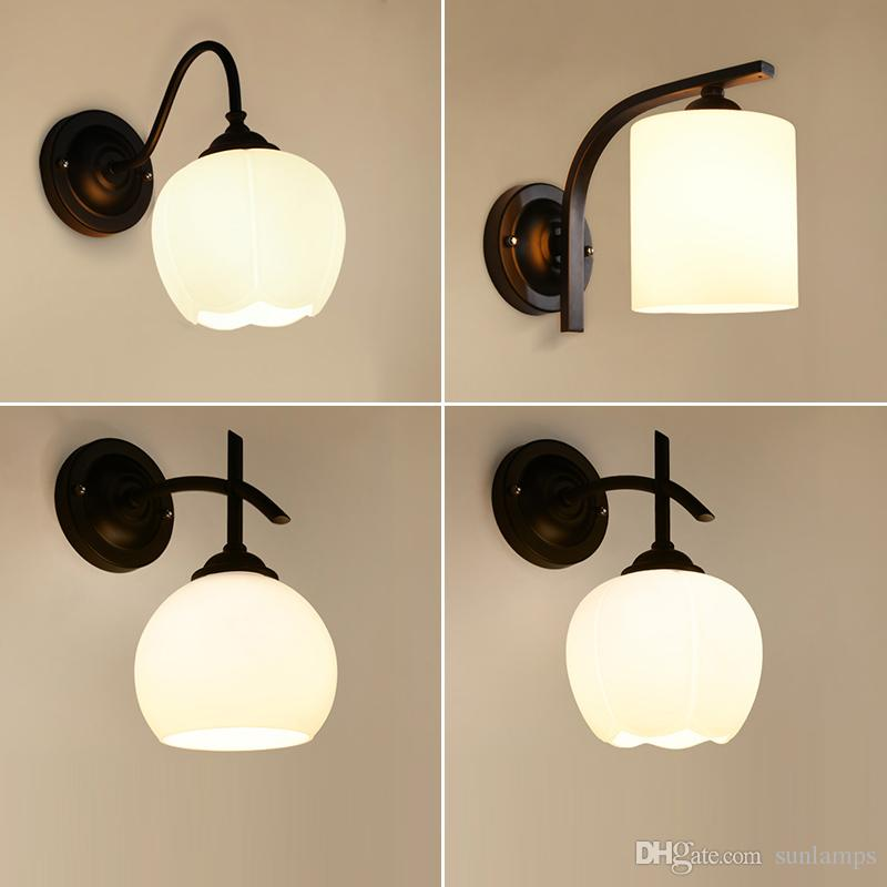 2018 american country retro wall lights bedroom study walls balcony 2018 american country retro wall lights bedroom study walls balcony lamp bedside lamp led bathroom wall lamp glass lamps from sunlamps 4322 dhgate aloadofball Choice Image