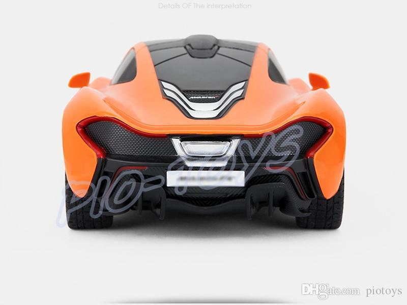 Nova Chegada Presente P1 1/24 Controle Remoto RC Mini Carro Piloto Brinquedos Elétrico Fácil Operar Jogo Crianças Favor Presente Velocidade Legal Brinquedo
