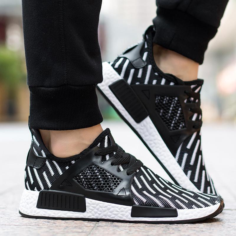 3344840ea 2019 Cheap New Version NMD XR1 Style Running Shoes Black White Sneakers For Mens  Summer Footwear Casual Boots Low 40 44 From Wenyanlv