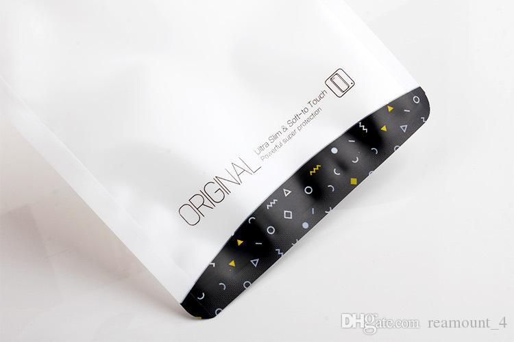 Großhandel neue mode zip-lock opp pvc taschen transparente beutel verpackung plastiktüten für galaxy s7 s7 rand telefon zubehör