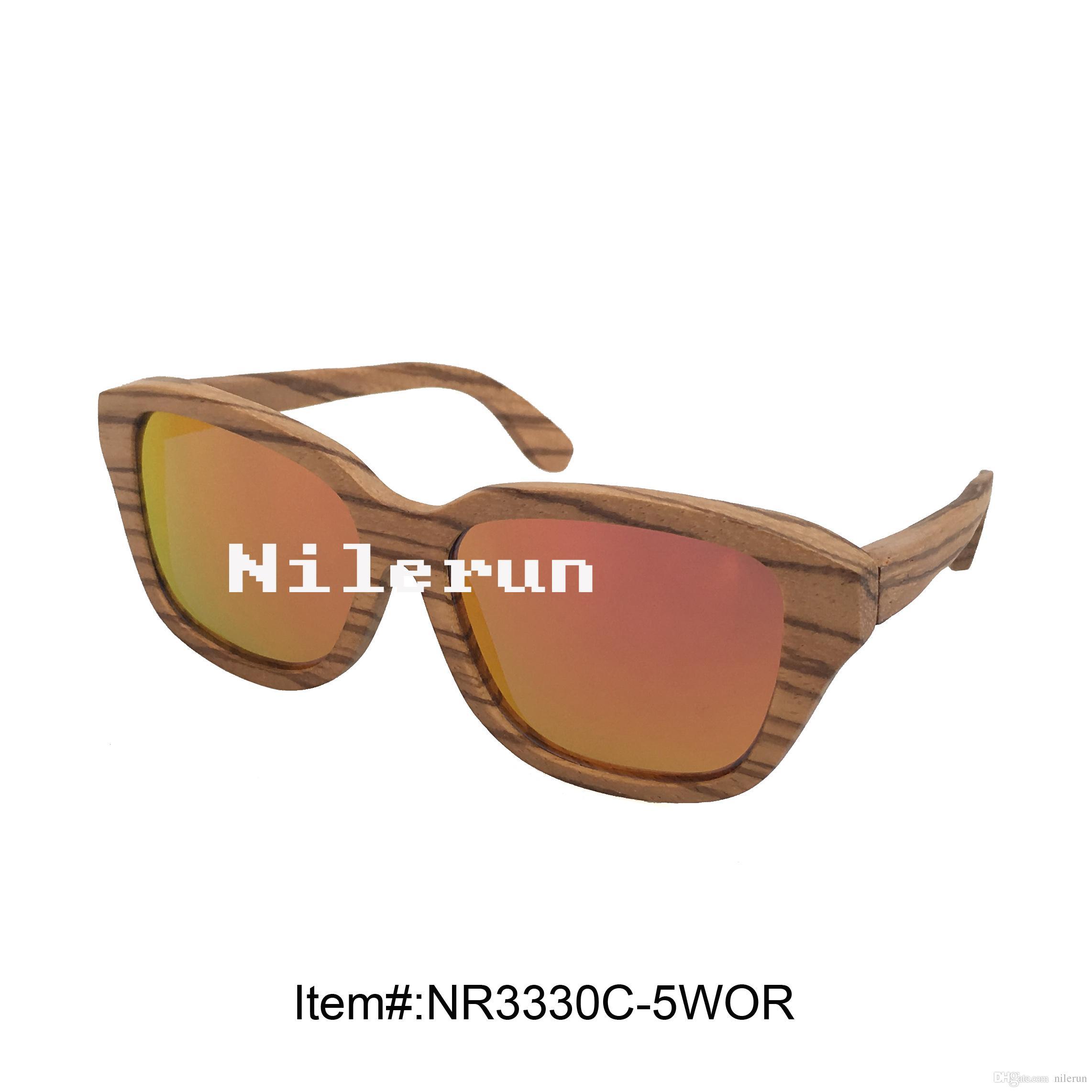 622c97d7313 Huge Zebra Wood Frame UV400 Orange Lens Sunglasses UV400 Orange Sunglasses  Huge Wood Sunglasses Large Wooden Sunglasses Online with  49.03 Piece on ...