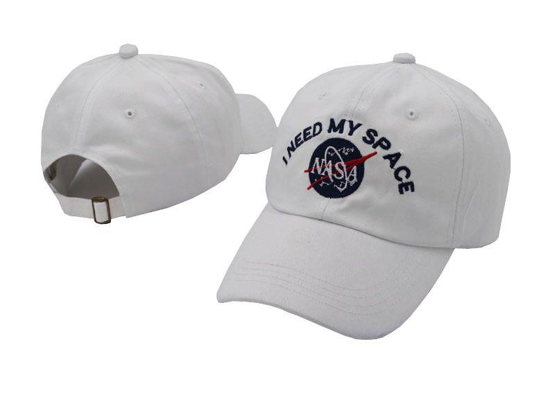 1c3c6169cae Wholesale I NEED MY SPACE NASA Hats Fashion Street Hip Hop Caps Sports  Snapback Hats Designer Baseball Caps Drop Shipping Baseball Cap Flat Cap  From ...