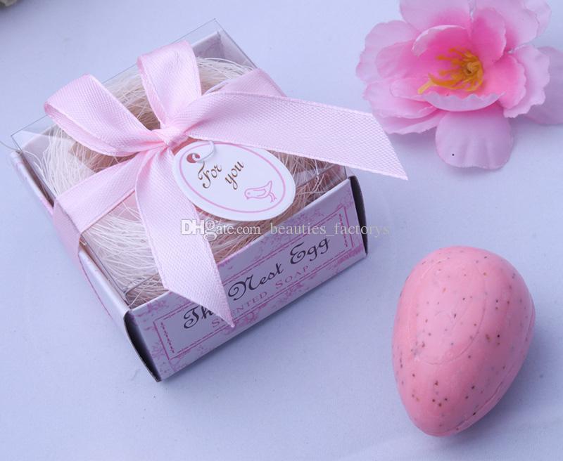 Nest Egg Soap Gift Box Cheap Practical Unique Wedding Bath Soaps
