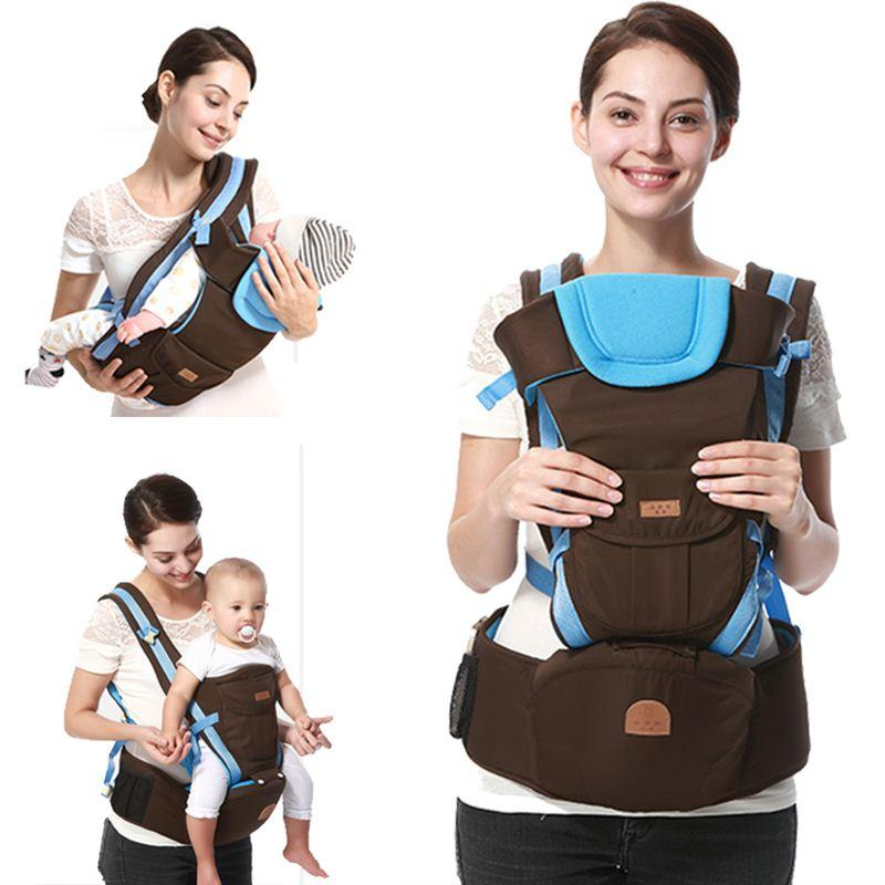 2019 2016 Best Selling Cotton Kangaroo Baby Carrier Hipseat Front