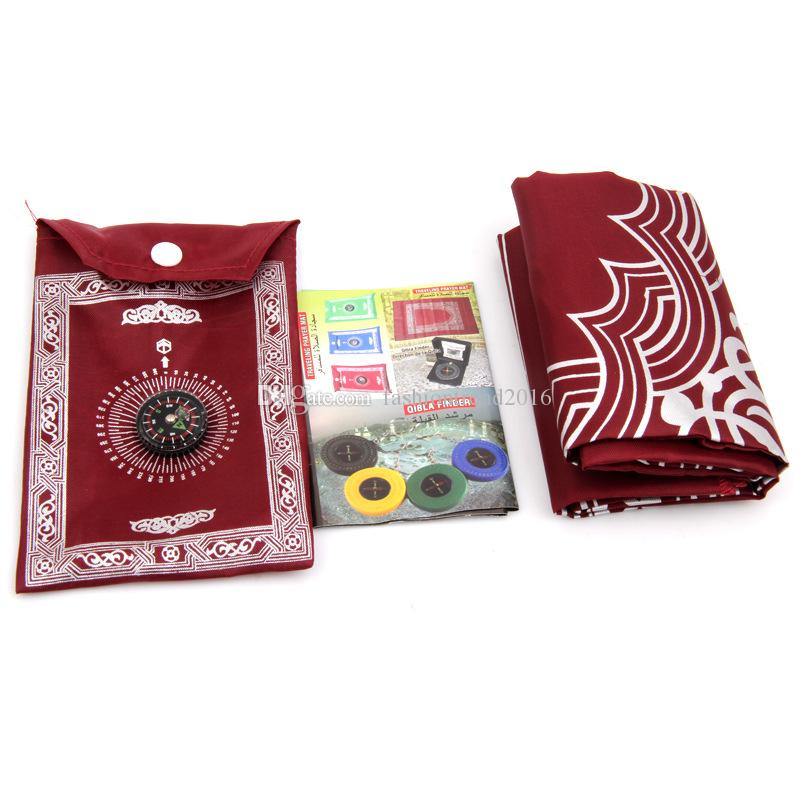 60*100CM Muslim Prayer Mat for Travel Business High Quality Hot Selling Pocket Prayer Mat Wholesale