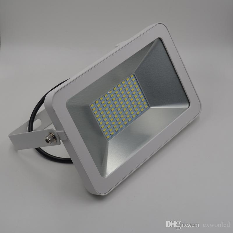 10W 20W 70W 100W de CE ROHS TUV Projecteurs 85-265V Projecteur LED extérieur étanche IP66 LED d'éclairage d'inondation