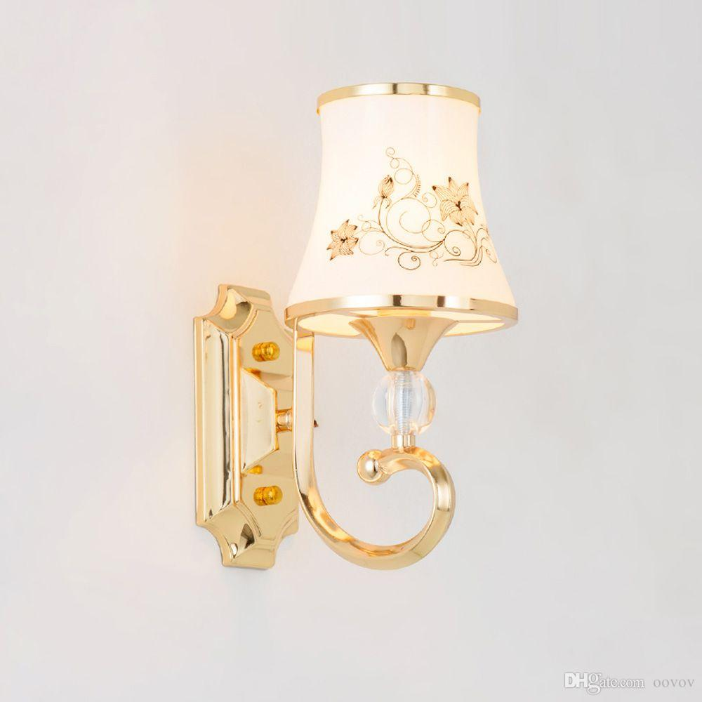 2017 European Living Room Glass Wall Lamp Fashion Bedroom Wall Lamp Study  Room Hallway Balcony Wall Light From Oovov, $65.33 | Dhgate.Com Part 82