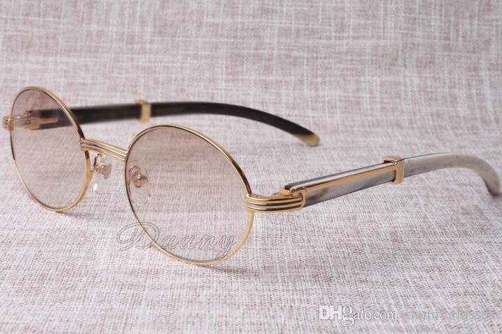 2019The nuovi occhiali da sole anti-radiazioni vetri 7550178 ibrido naturale uomini e donne angolo degli occhiali da sole dimensioni: occhiali 55-22-135mm
