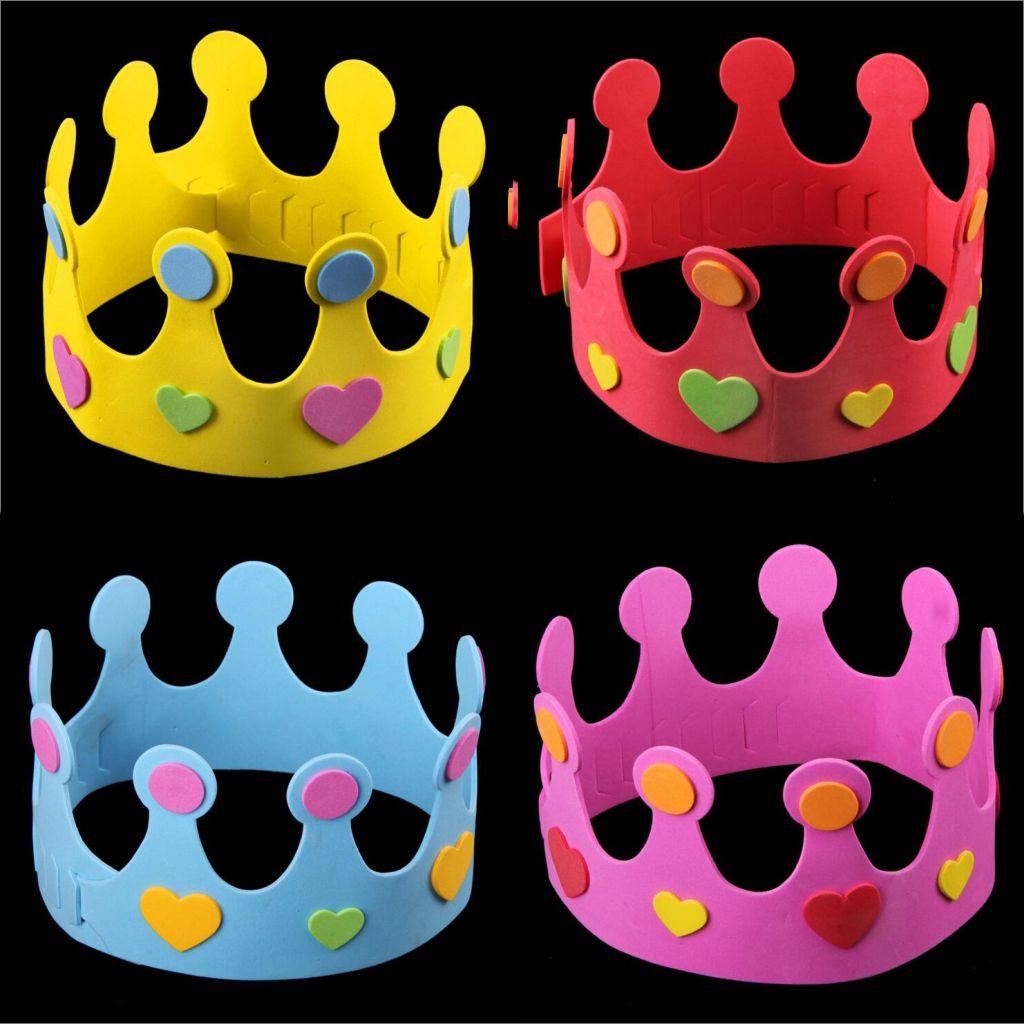 cool party diy eva crown cap children s day birthday party