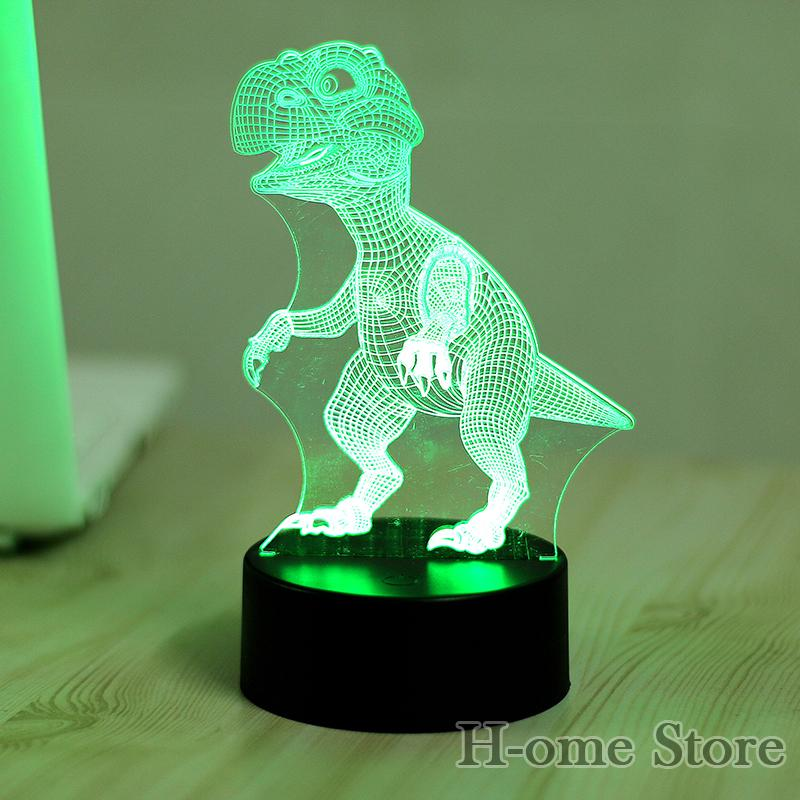 Online Cheap Wholesale Dinosaur Lamp 3d Visual Led Night Lights For Kids  Touch Usb Table Lampara Lampe Baby Sleeping Nightlight By Jinyucao |  Dhgate.Com