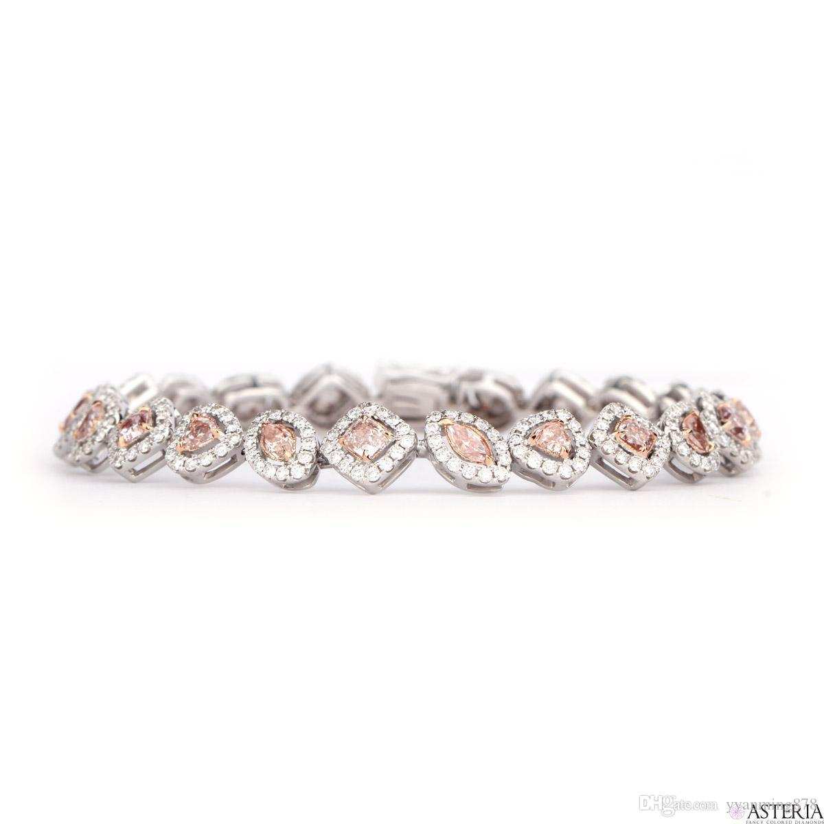 mix oval tw diamond light gia certified pink shape ct bracelet