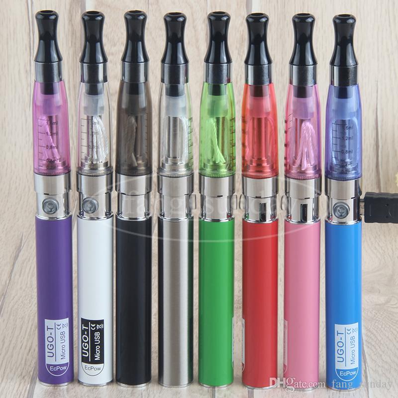 Vaper Ego T CE4 CE 4 Kit caricabatterie blister sigaretta elettronica caricatore di vaporizzatore con batteria UGO Micro USB 510 filo da 900 1100 mAh