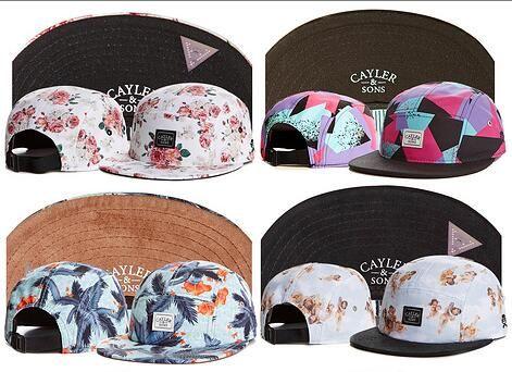 6ea0545bc46 Wholesale Swag Cayler Sons Snapback Flower 5 Panel Hat Caps Hip Hop Cap  Baseball Hats For Men Snapbacks Casquette Bone Aba Reta Gorra Custom Fitted  Hats ...