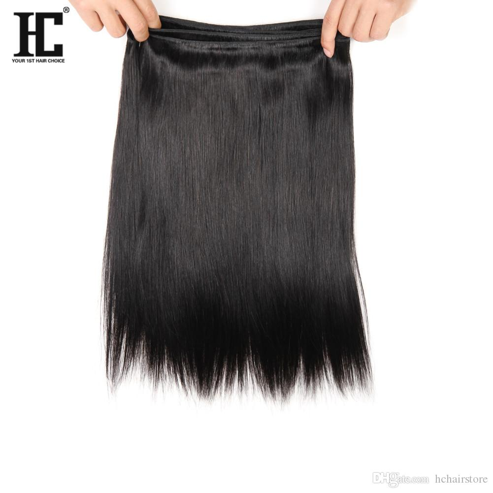 HC Brasilianisches Haar 3 Bundles mit 360 Spitze Frontal mit Bundles Gezupft 360 Spitze Frontal mit Baby Haar Brasilianisches Unverarbeitetes Reines Haar