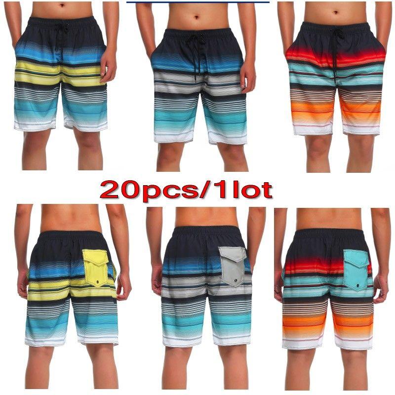 9cf282dd32 2019 2017 Summer Quick Drying Shorts Beach Surf Trunks Board Shorts Surfing  Swim Wear For Men Boardshorts Pant Swimwear Short Mixed MK6039 From Yangze,  ...