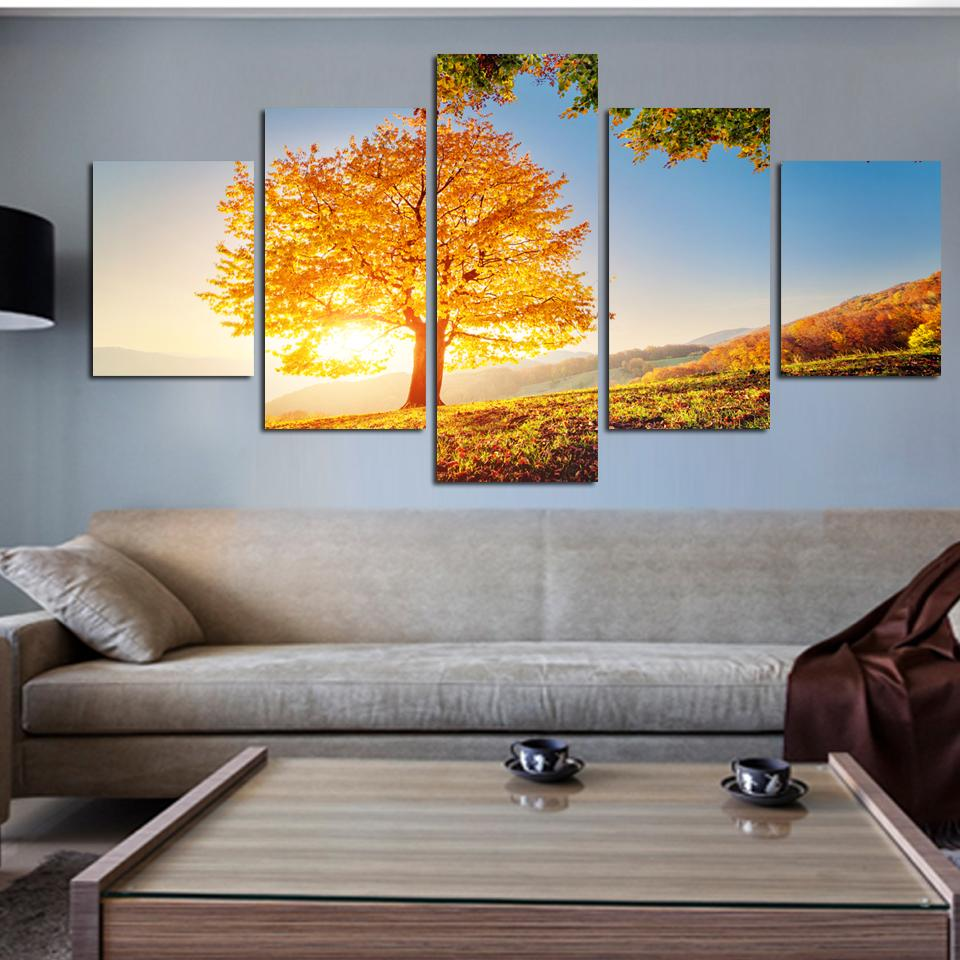2017 Modern Montreal Tree Landscape Oil Paintings Pictures Prints On ...