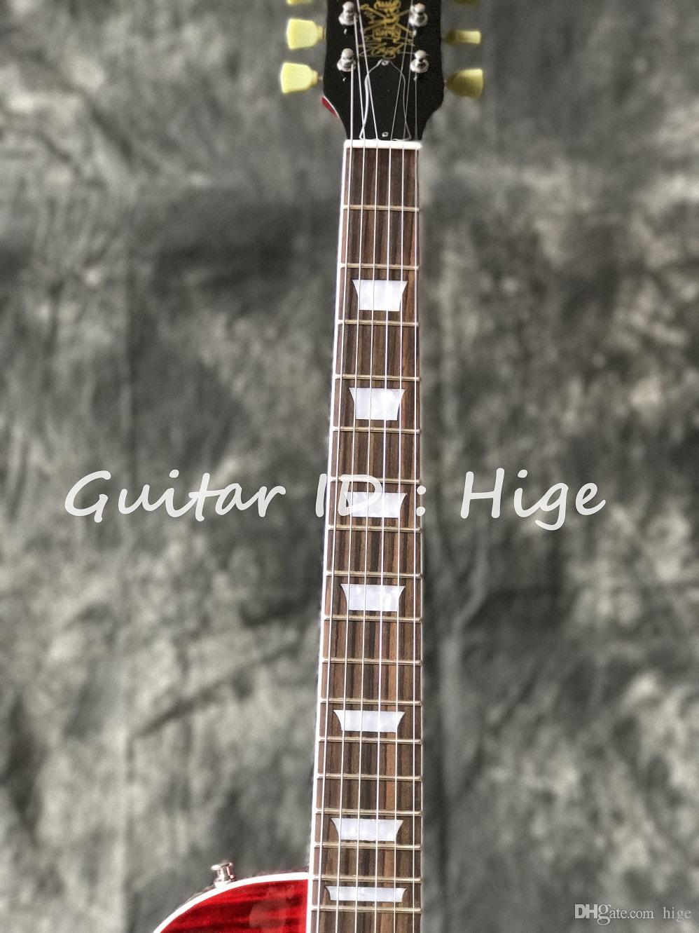 Chitarra elettrica della Cina Slash Appetite VOS colore rosso VENDITA CALDA Consegna veloce guitarra Spedizione gratuita in magazzino