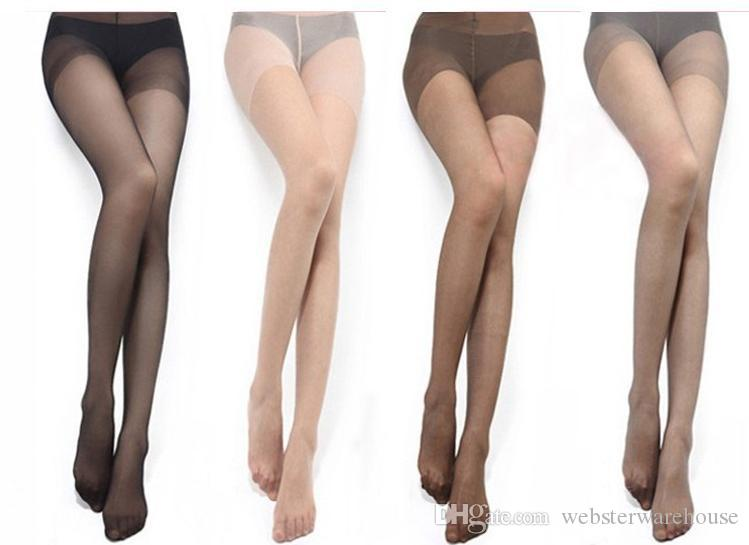 Women gray pantyhose