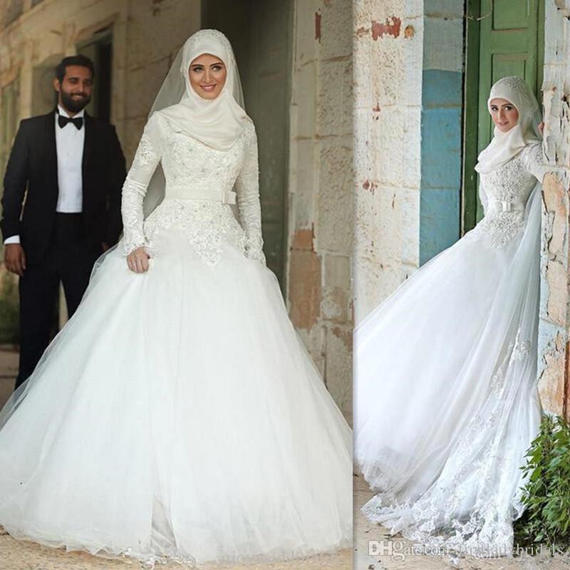 Robe de mariage musulman
